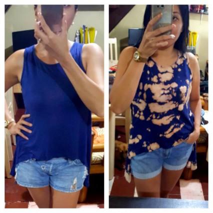 DIY: Reverse Dye Shirt