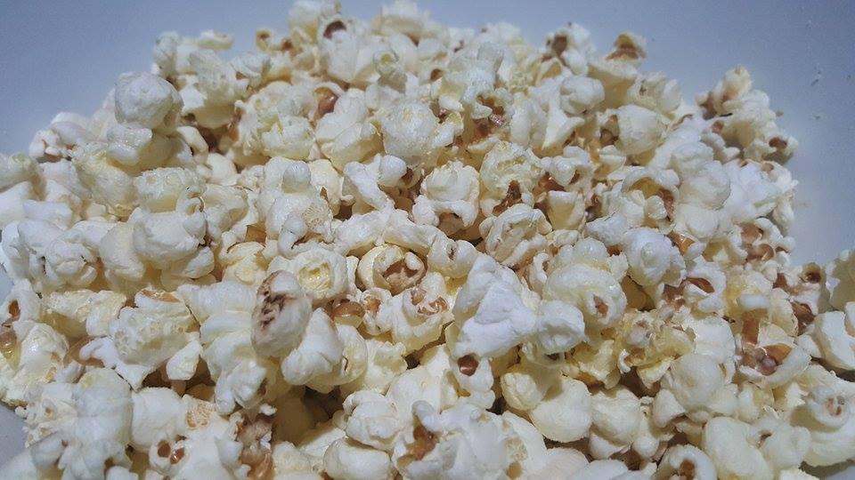 Parmesan Cheese Popcorn