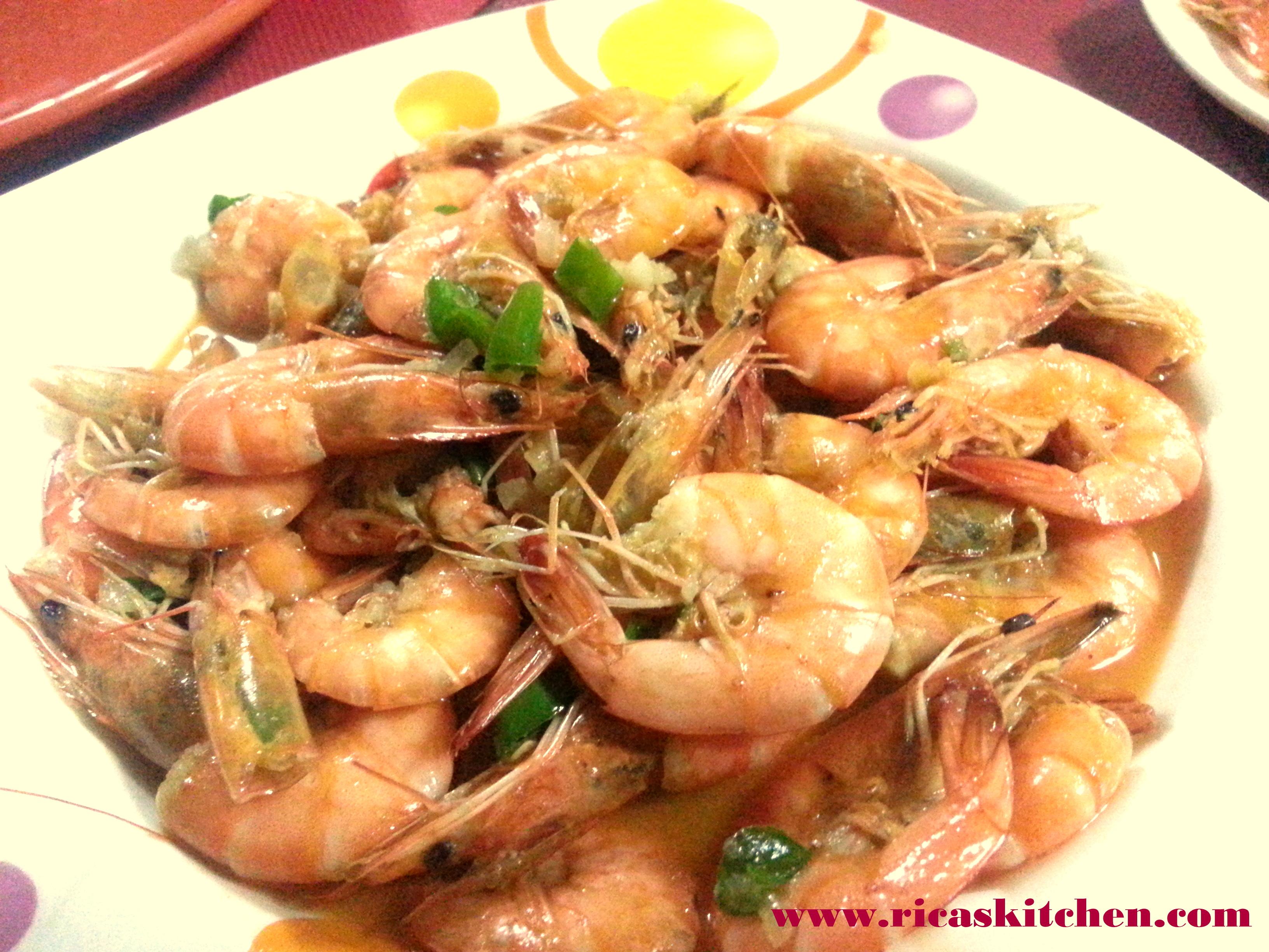 Sweet and Spicy Sautéed Shrimp