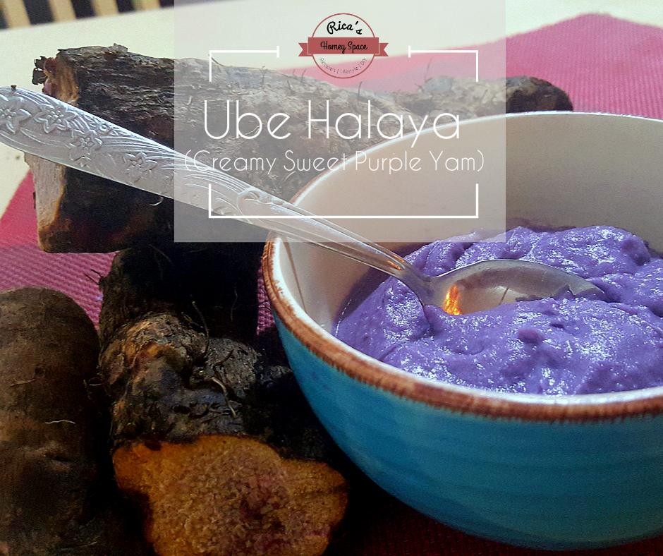 Ube Halaya/Sweet Creamy Purple Yam