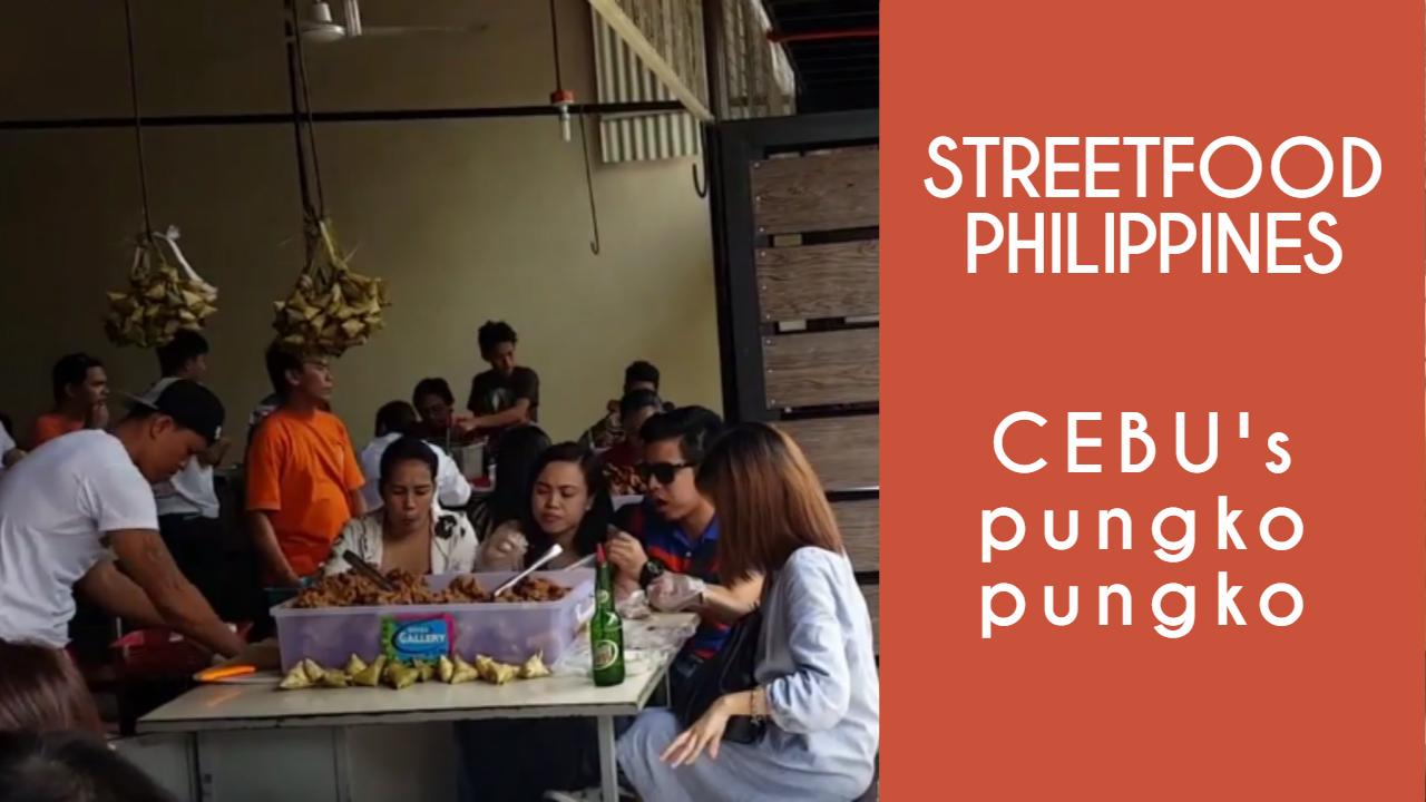 Philippine's/Filipino Street Food: Cebu's Pungko Pungko