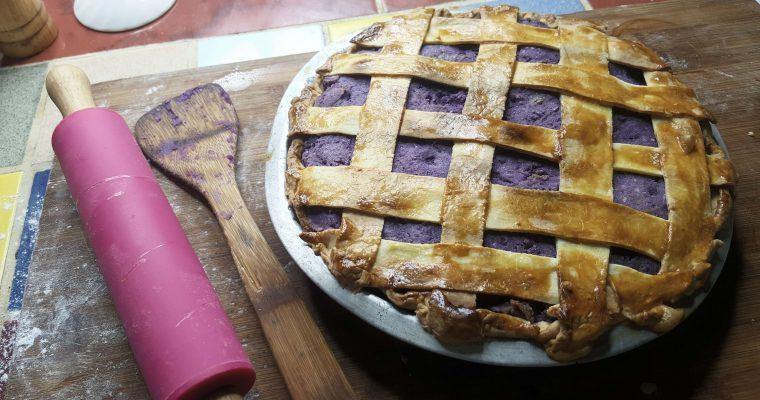 Ube Halaya Pie (The Purple Yam Filipino Pie)